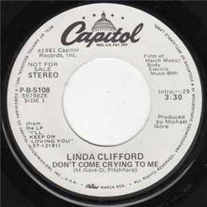 Linda Clifford - Don't Come Crying To Me herunterladen