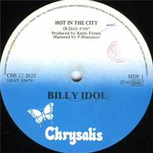 Billy Idol - Hot In The City herunterladen